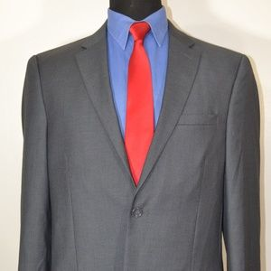 Caravelli 40L Sport Coat Blazer Suit Jacket Gray